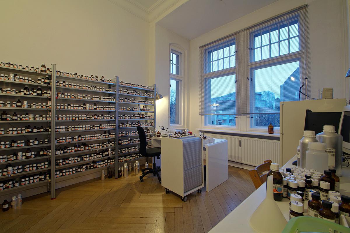 re_search Lab, Sissel Tolaas, Berlin Germany