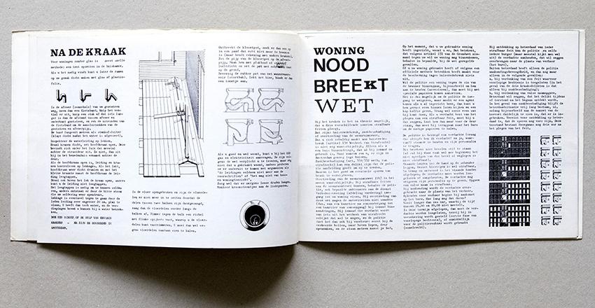 Instructions for repairing toilets and installing plumbing, Handleiding Krakers (Amsterdam: Federatie Onafhankelijke Vakgroepen & Buro de Kraker, 1969).