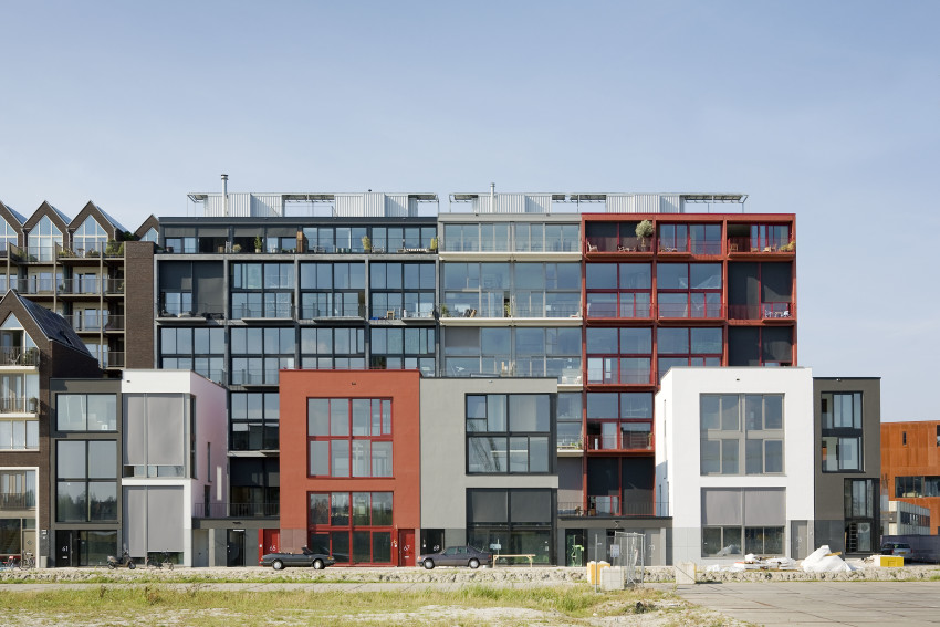 Superloft in Amsterdam, NL. Photograph by Marcel van den Burg. Courtesy of Marc Koehler Architects.